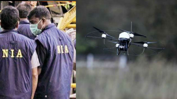 pakistan smuggling arms to india via drones !!