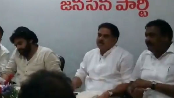 Jana Sena MLA Rapaka Vara Prasad faces discrimination in front of Pawan Kalyan by Nadendla Manohar