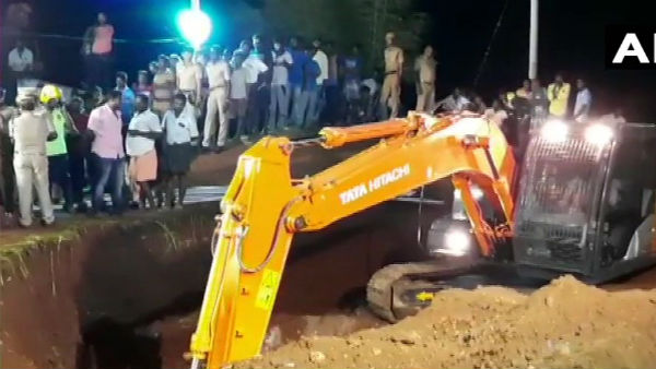 2 year boy falls into Borewell in Tamilnadu, Rescue operations underway