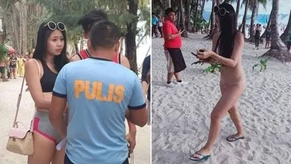Taiwanese Tourist Fined For Bikini Wearing In Philippines Beach