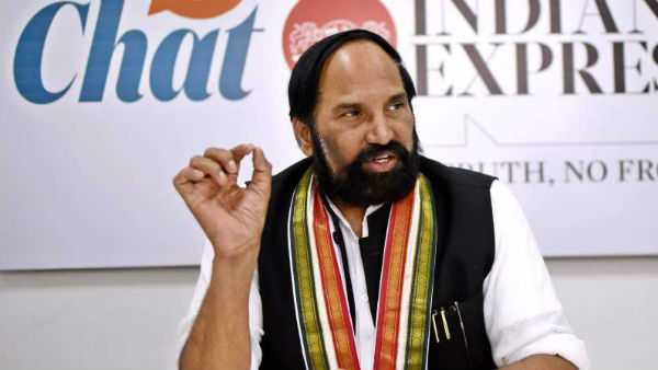 Uttam Kumar Reddy says police and election officials are behaving as TRS activists
