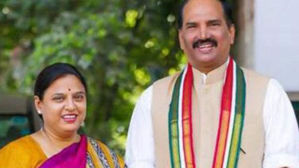 huzurnagar bypoll: TRS complaint on Congress candidate Padmavathi