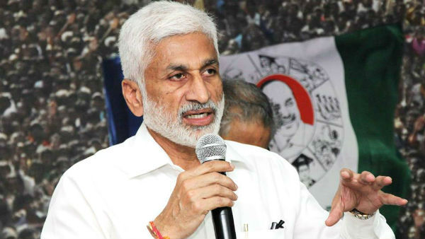 YSRCP MP Vijayasai Reddy writes to SC CJ to inquire on TV9 former CEO Ravi prakash