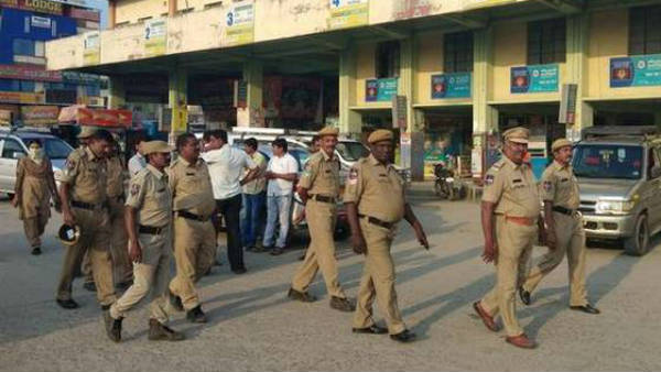 RTC workers strike in Warangal created tension
