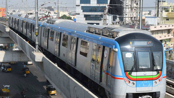 Another incident happened in the Hyderabad Metro rail