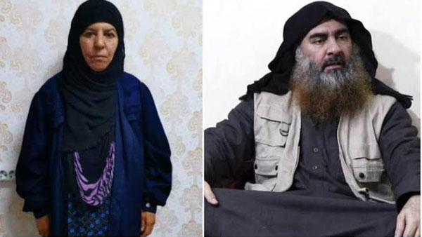 Turkish authorities says that they capture sister of Abu Bakr al-Baghdadi alive
