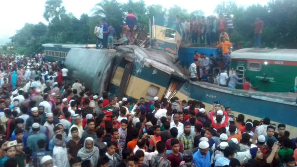 16 passengers killed as two trains collide in Bangladesh