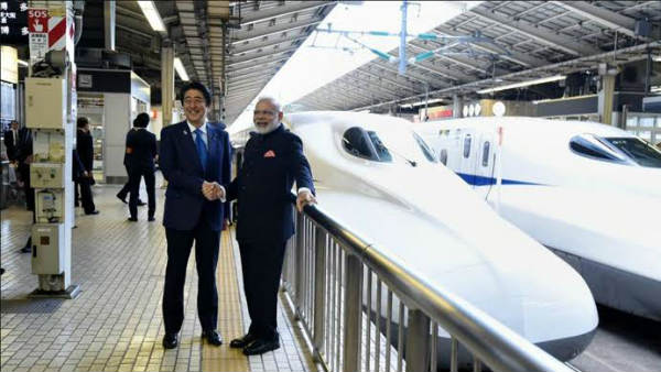 bullet train project between Ahmedabad Mumbai may be scrapped if the Shiv Sena, NCP Congress take power in Maharashtra, source