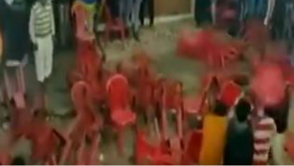People Hurled Chairs at One Another at a Qawwali Event in Haridwar of Uttarakhand