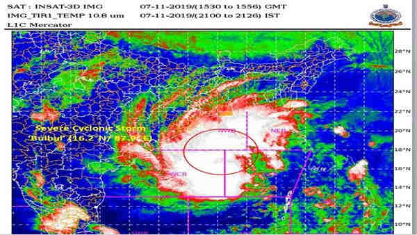 cyclone bulbul:Storm makes landfall around Bengals Sagar Island