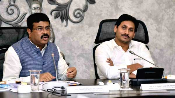 Dharmendra Pradhan Assured Ap govt on establishment of Petro chemcial complex