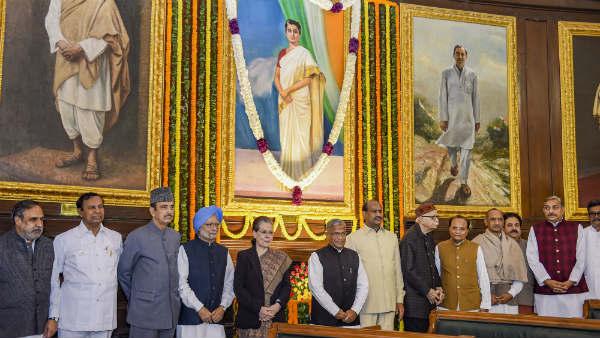 ఉక్కు మహిళ  ఇందిరా గాంధీ 102 వ జయంతి ... ప్రధాని మోడీ, సోనియాలతో సహా పలువురి నివాళి