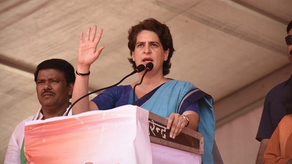 Ayodhya verdict : Priyanka Gandhi appeal.. Dont give any chance to violence