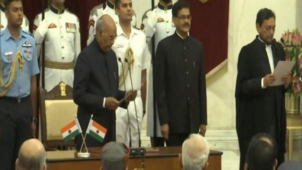Justice SA Bobde sworn in as 47th Chief Justice of India