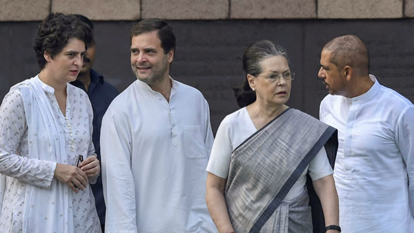 Central Govt has decided to withdraw SPG protection from the Gandhi family, source