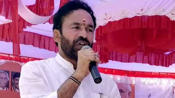 Union minister kishan reddy outraged on AP government about attacks