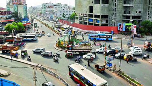 Andhra Pradesh: Union Minister Nitin Gadkari likely to inaugurate the Benz Circle flyover on January 1st
