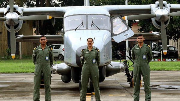 Shivangi creates record by becoming the first woman to enter cockpit in Navy
