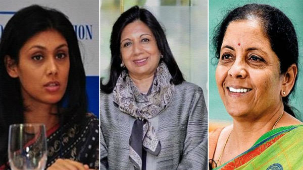 Nirmala sitharaman makes it in Forbes worlds most Powerful women list