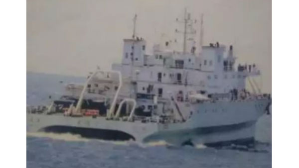 Navy drives away Chinese spy vessel from Indian waters
