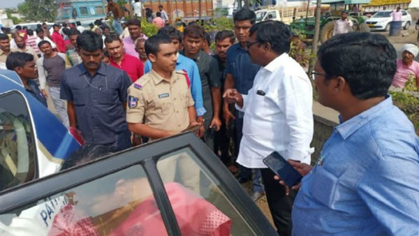 Telangana minister Puvvada Ajay Kumar gave lift to injured persons by road accident in his convoy