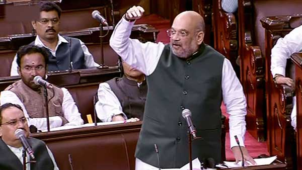 Pakistan and Congress are speaking the same language ; Amit Shah