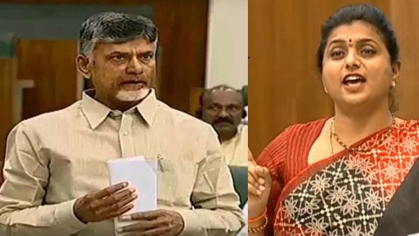 YCP MLA Roja serious allegations against CBN in Assembly