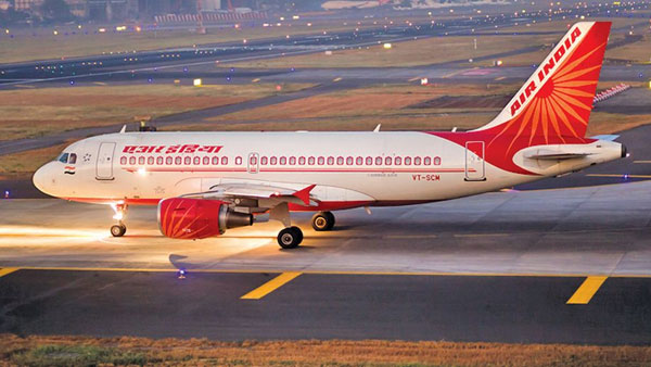 Air India to take alternate route to Europe and US, reccomends to avoid Iran airspace
