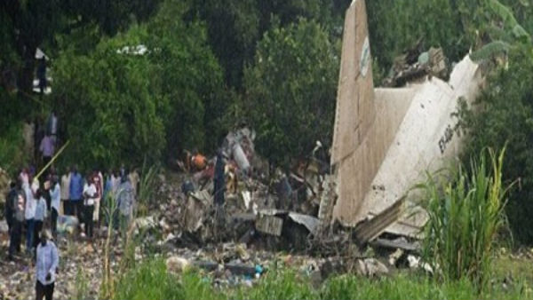Military Plane crashes in Sudan killing all 18 passengers on board