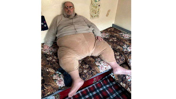 250 kg ISIS Cleric Jabba The Jihadi Arrested In Iraq