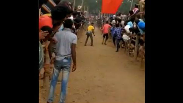Jallikattu event organised in Chittoor district in the eve of Sankranthi lead one dead