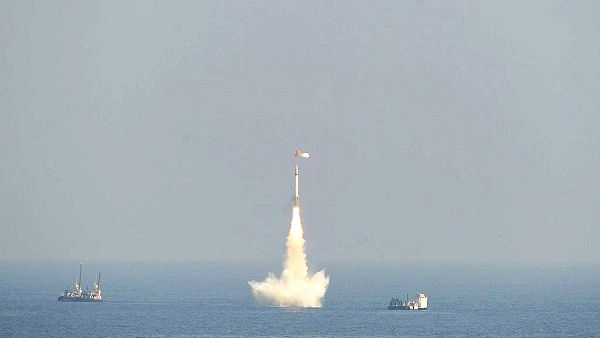 India successfully test fires K-4 ballistic Missile