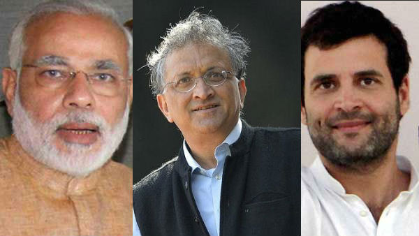 Pm Narendra Modi Great Advantage Is He Is Not Rahul Gandhi Ramchandra Guha