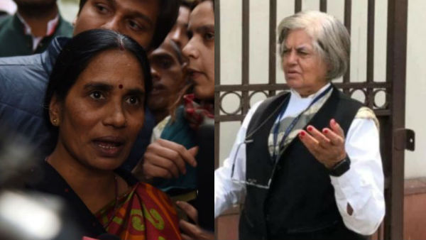 Indira Jaising Urges Nirbhaya S Mother To Follow Sonia Gandhi