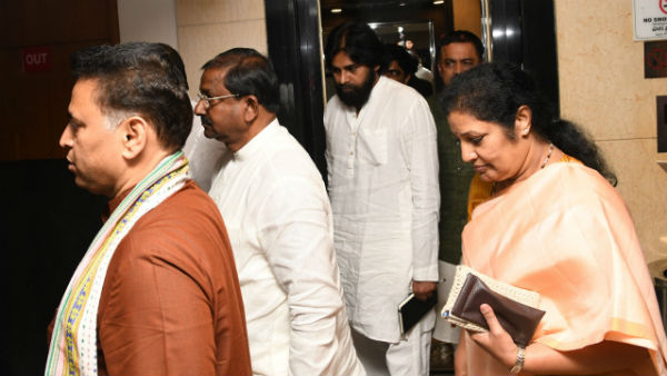 Key agreements made before alliance meet between BJP and janasena