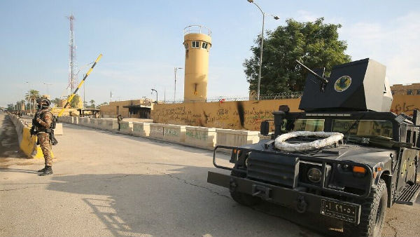 Rockets Hit Near Us Embassy In Iraq S Capital City Baghdad