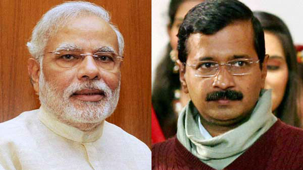PM Modi wishes arvind kejriwal for delhi victory