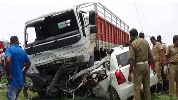 Fatal road accident in Warangal district, two died