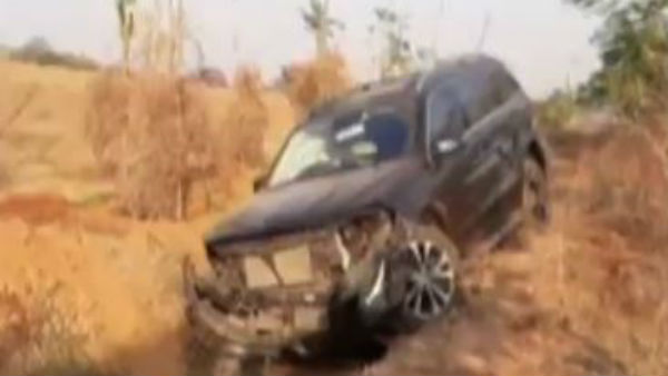 brother anil kumar car met with accident in krishna district