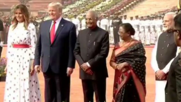US President Donald Trump two day India visit live Updates