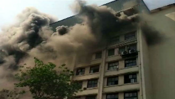 Mumbai fire: Level III blaze breaks out at GST Bhavan in Byculla area, none hurt
