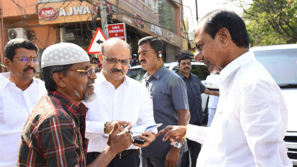 kcr sucha a kind hearted cm stops convoy and helps to an old man