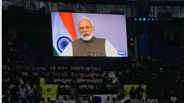 PM Modi declares open inaugural Khelo India University Games