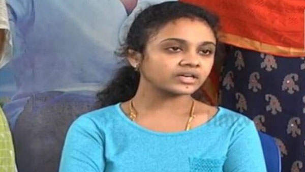 amrutha pranay admitted in hospital due to sick