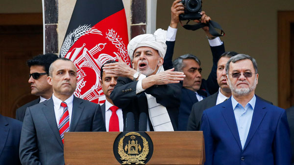 Ashraf Ghani Sworn in for Second Term as Afghanistan President, Blasts occurred during inauguration