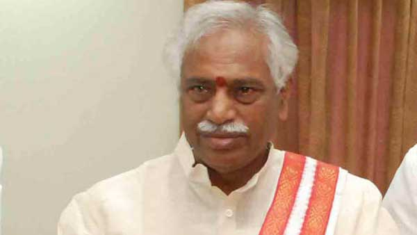 Bandaru Dattatreya is sick ... joined in Apollo Hospital