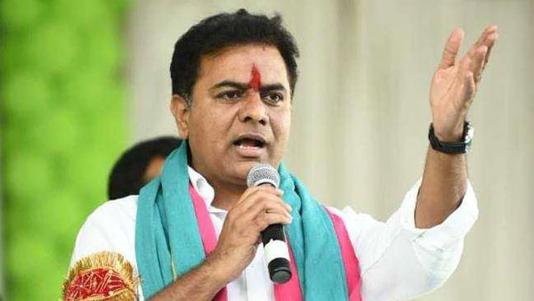 Telangana minister KTR gave assurance to Women journalist in Hyderabad