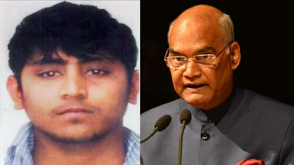 nirbhaya Convict Pawan Guptas Mercy Petition Rejected By President ramnath kovind