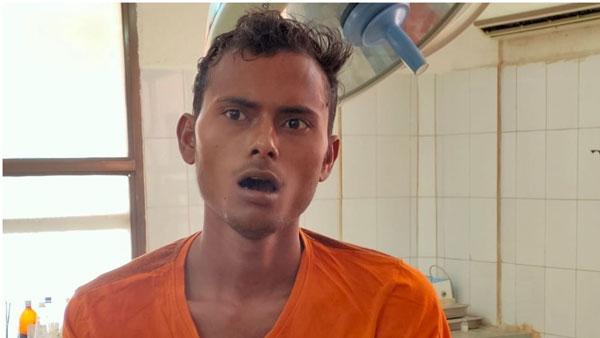 migrant reportedly sacrifies his tongue at temple to eradicate covid-19 in Gujarat