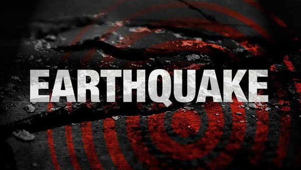 An earthquake of 2.7 magnitude hit Delhi yet again on Monday,